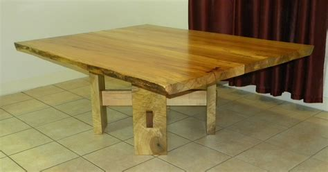 maple pedestal dining table custom made live edge maple pedestal dining table by