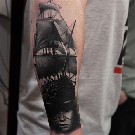 30 cool sailing ship tattoos best tattoo ideas gallery