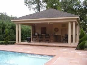 cabana house pool cabana w outdoor kitchen ideas on pinterest pool