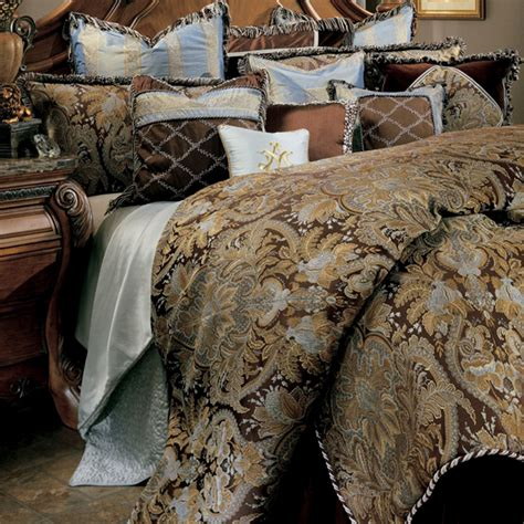 michael amini portofino luxury bedding set cmw sheets