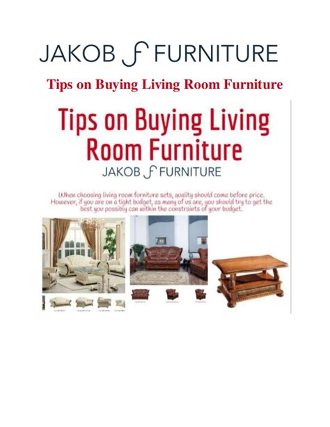 buying living room furniture tips on buying living room furniture