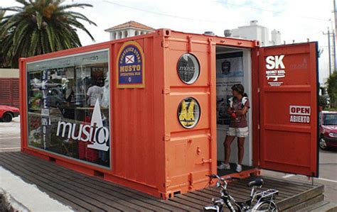 Urban Furniture by Musto Cargo Container Retail Store Urbanist