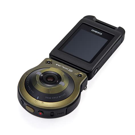 casio ex fr10 green by doss casio ex fr10 2 0 quot lcd separable green