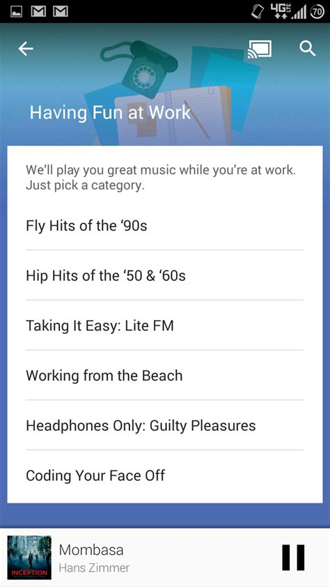 songza apk update apk throws songza contextual playlists into play s material