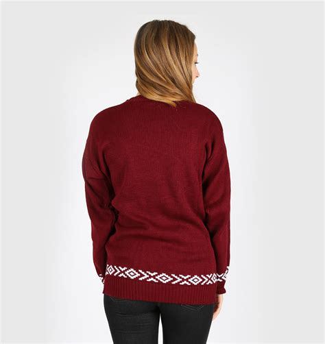merry christmas ya filthy animal sweater maroon ugly christmas sweaters store