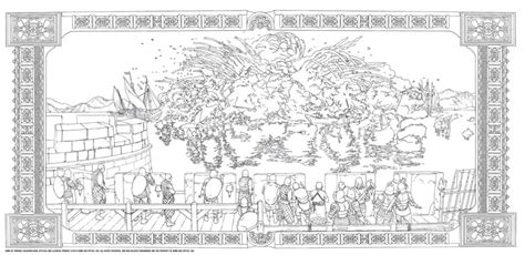 thrones colouring book adults official hbo of thrones coloring book coming from