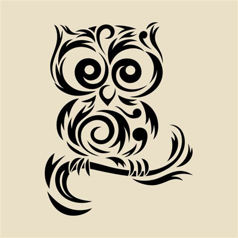 tribal pattern owl image gallery tribal owl