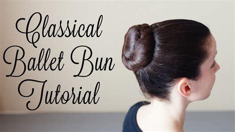 dance tutorial f x hot summer classical ballet bun tutorial youtube