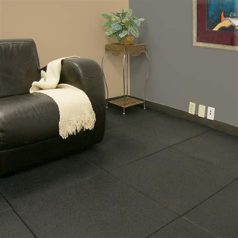 Rubber Flooring For Basement Rubber Flooring For Basements Will Breathe New Into Any Cellar