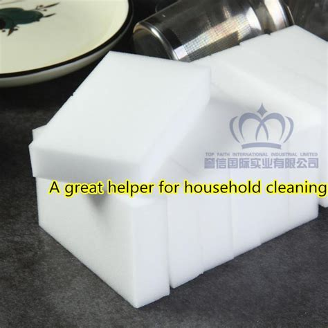 Multi Function Magic Melamine Sponge Eraser Cleaner Cleaning top faith white magic sponge eraser melamine sponge cleaner 10 6 2cm retail pack multi function