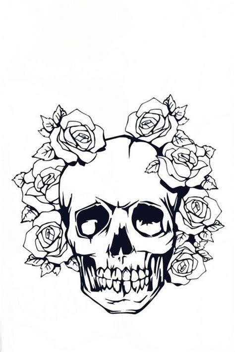 teschio tattoo rosa bianco nero black blackandwhite