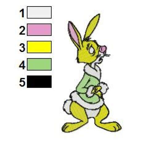 embroidery design rabbit rabbit 04 embroidery design