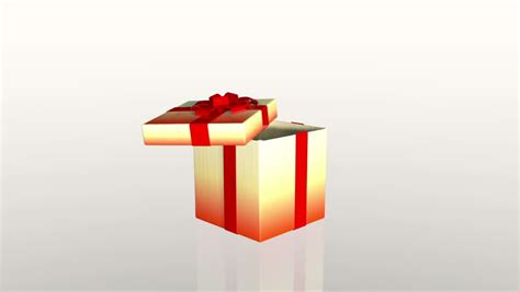 colorful christmas gifts 3d animation of 6 different