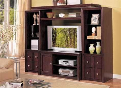 wooden wall units for living room wall unit big screen tv reversadermcream com