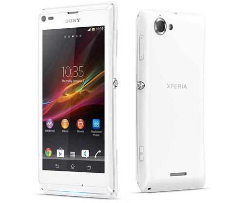 Hp Sony Xperia V Detail sony xperia l c2105 price review specifications features