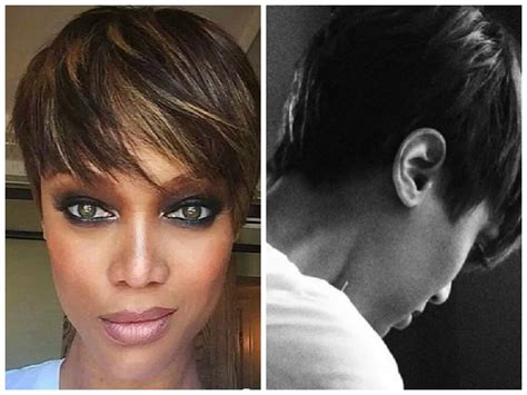 Tyra Banks Just Got A Super Short And Super Pretty Pixie | tyra banks has a new pixie cut and it is super cute tyra