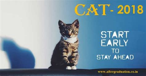 About Cat For Mba by Cat 2018 Start Your Preparation Now For Better Score For
