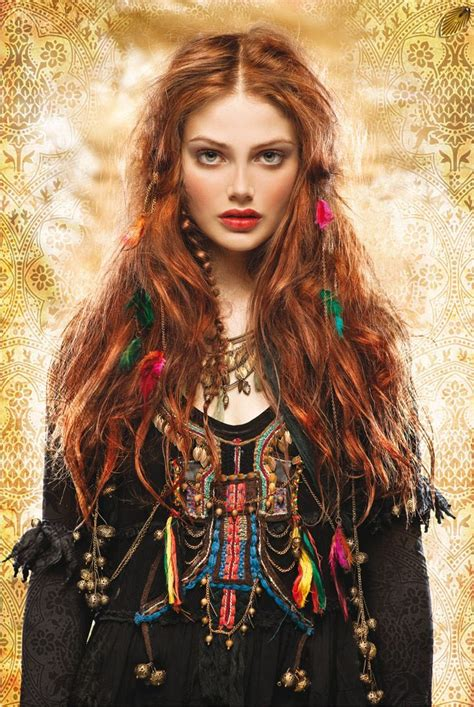 gypsy style hairstyles gallery for gt boho chic style tumblr bohemian dreams