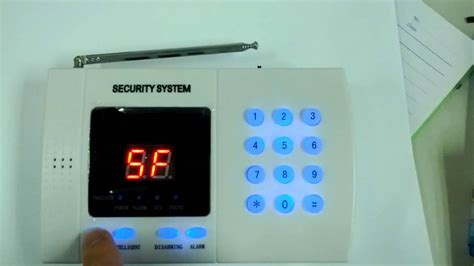 ck al 9903 99 zone home alarm security system keypad lock