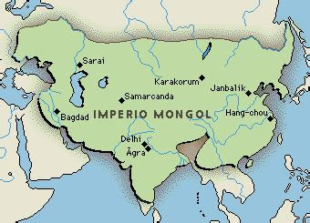 imperios otomano mongol y chino gengis kan el imperio mongol