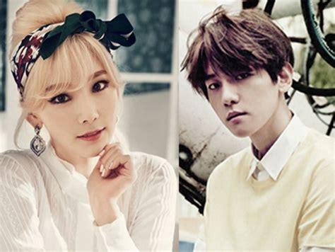 detik kpop kisah pacaran baekhyun exo dan taeyeon snsd yang penuh