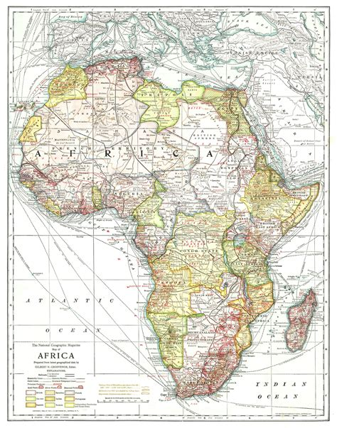 africa map 1950 africa map 1950