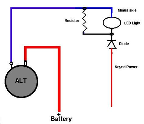 how does a diode work in a car alternator trouble shooting