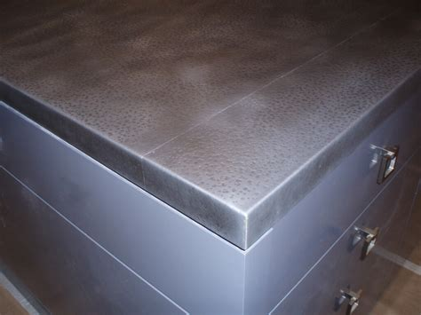 Steel Countertop by 1000 Images About Textured Metals For The Home On