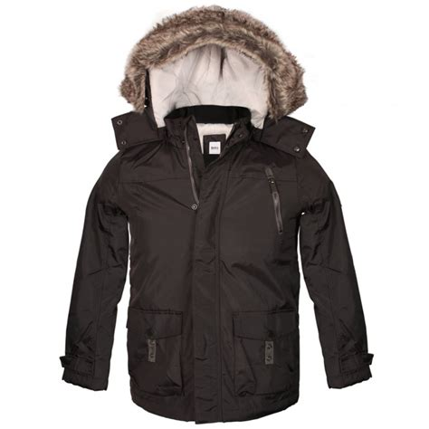 Jaket Boy Buy Boys Parka Jacket In Grey At Hurleys