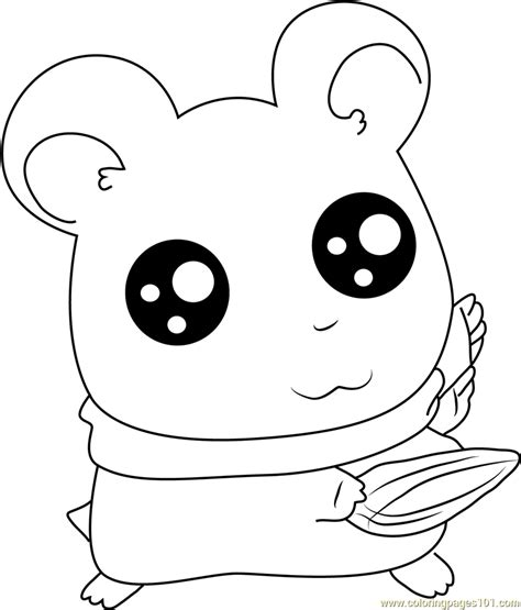 coloring pages of animals with big eyes look into my big eye coloring page free hamtaro coloring