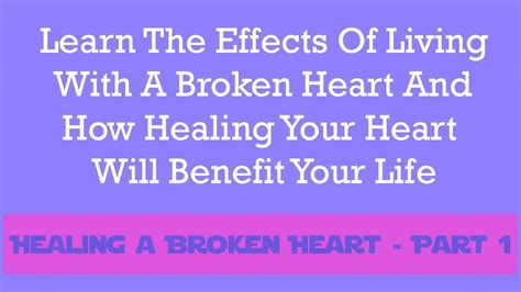 How To Heal Your Broken Part 1 The Wellness by Healing A Broken Pt 1 Biblical Reasons And Causes