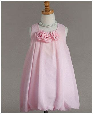 Dress Pink Tri z crayon light pink tri flower sleeveless dress