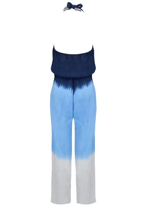 Poppy Jumpsuit Navy beth and tracie poppy jumpsuit ombre blue