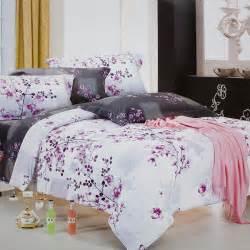 plum duvet cover king blancho bedding plum in snow 100 cotton 4pc comforter