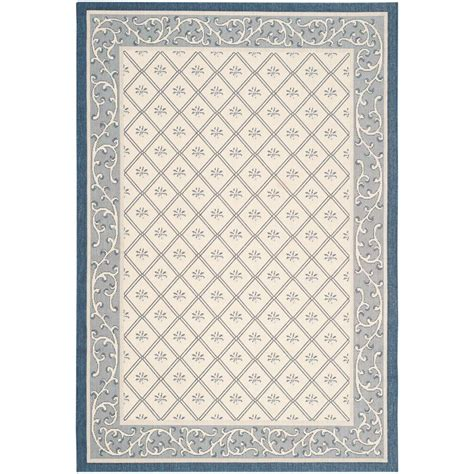 navy blue and beige area rugs safavieh courtyard navy beige blue beige 4 ft x 5 ft 7 in indoor outdoor area rug price
