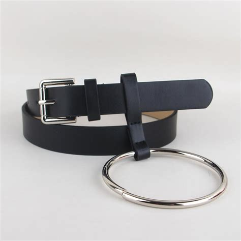 newest design waist belt lovely s big ring