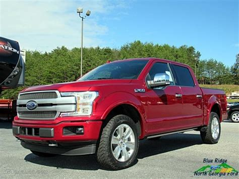 ruby ford f150 2018 ruby ford f150 platinum supercrew 4x4 123080035