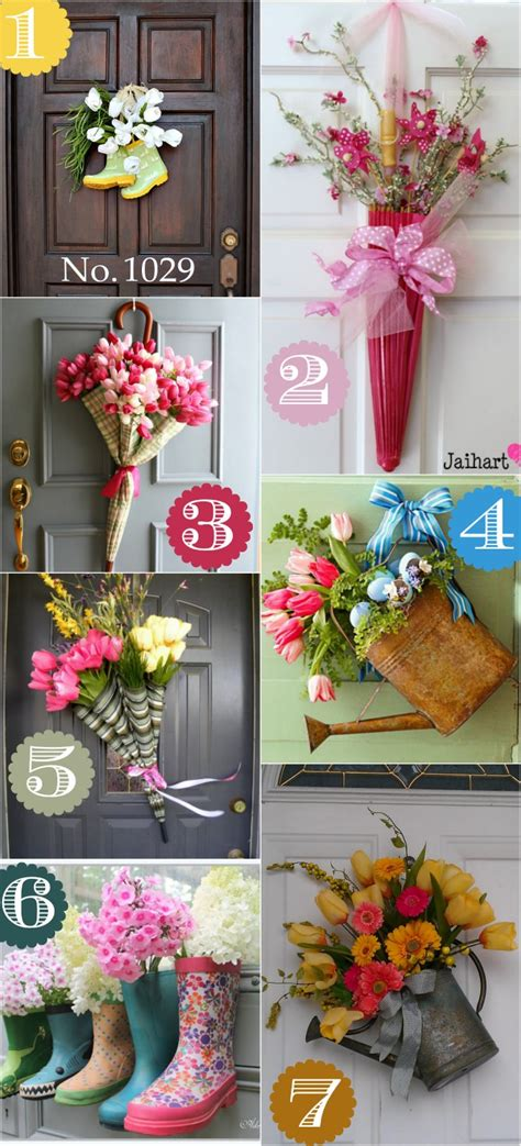 Creative Ideas To Decorate Home by 36 Creative Front Door Decor Ideas Not A Wreath Home