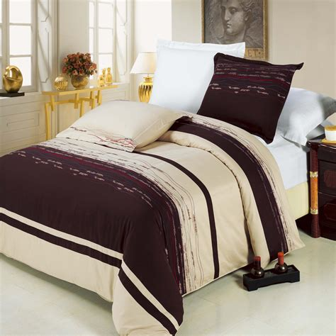 light beige duvet cover luxury chocolate red blue light brown sandy beige