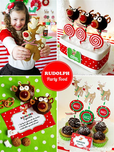 16 cute christmas party food ideas rudolph food recipes for ideas printables