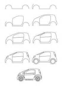 How To Draw Car How To Draw A Car Learn How To Draw A Small Car With