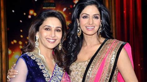 sridevi or madhuri when sridevi made way for madhuri dixit youtube