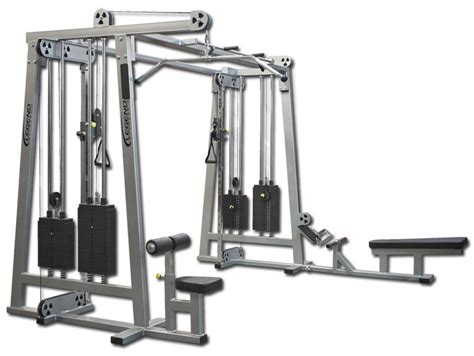 Alat Fitness Cable Crossover Cable Crossover Plus Jungle Legend Fitness 960