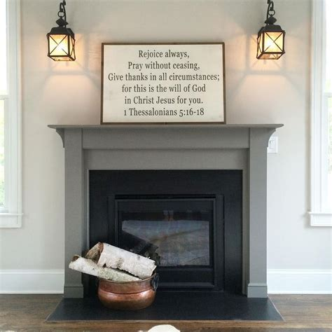 fireplace colors 25 best painted mantle ideas on