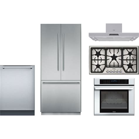 wolf kitchen appliance packages thermador kitchen package with sgs365fs cooktop med301js