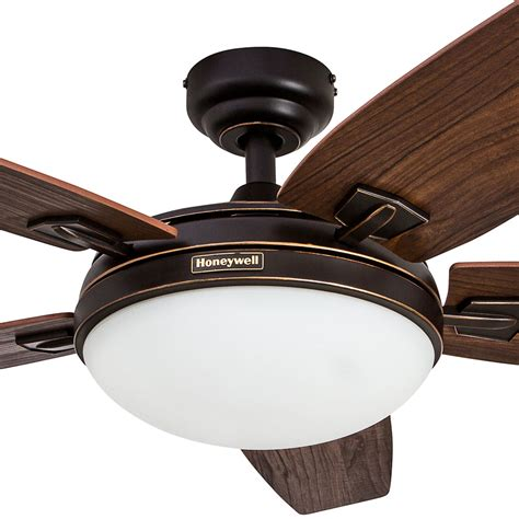 48 inch ceiling fan honeywell ceiling fan rubbed bronze finish 48