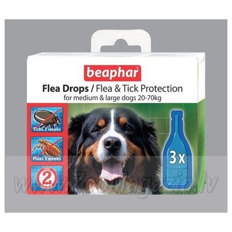 flea drops for dogs beaphar flea drops for large dogs www zoomagazin lv