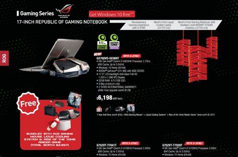 Asus Laptop A550c Price In Malaysia liquid cooled asus rog gx700 gaming laptop might be launched in malaysia soon lowyat net