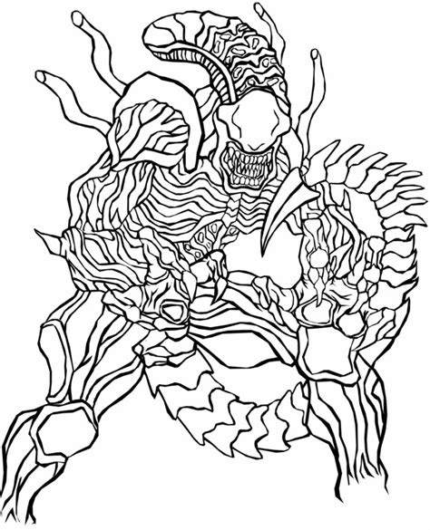 predator coloring pages to download and print for free
