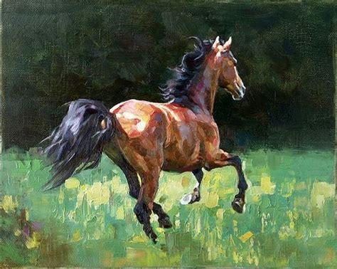 herbert alemi horse painting by kolobaev yaroslav art horses